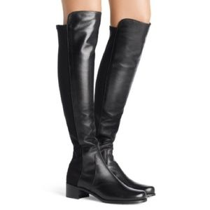 STUART WEITZMAN OVER-THE-KNEE 50/50 RESERVE BOOTS